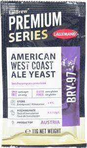 Danstar Ale Yeast American West Coast 11 g