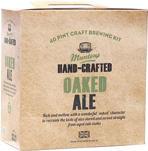Muntons Hand Crafted Oaked Ale Beer Kit 3.6 kg