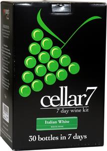 Cellar 7 Italian White Wines Kit 30 bottle