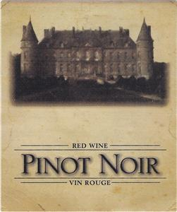 Unbranded Labels Self Adhesive Pinot Noir - Chateau (30s)
