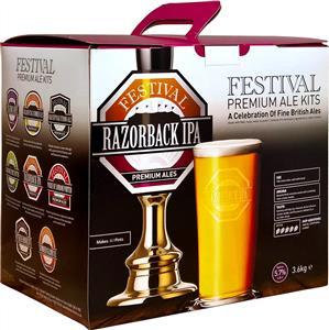 Festival Premium Ale Razorback IPA Beer Kit 3.6 kg
