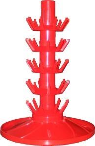 Woodshield Rotating Drainer for 45 bottles