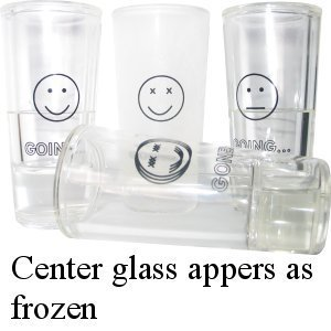 Sommelier Frosty Shot Set (4 glasses)