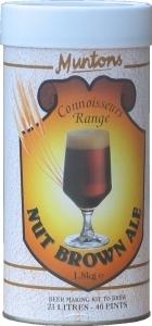 Muntons Connoisseurs Nut Brown Beer Kit 1.8 kg