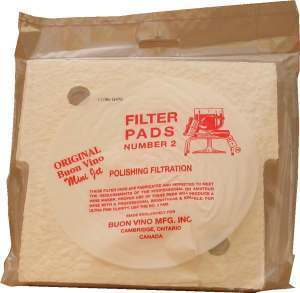 Buon Vino Polish Pads for Minijet Filter [No.2](3s)