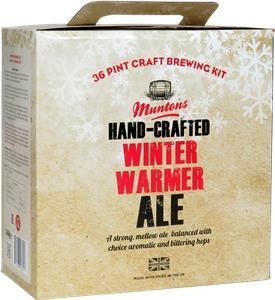 Muntons Hand Crafted Winter Warmer Beer Kit 3.6 kg