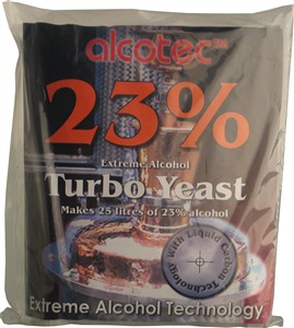 Alcotec Turbo Yeast 23% Turbo Yeast