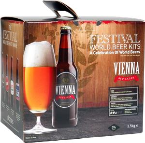 Festival World Beers Vienna Red Lager Beer Kit 3.5 kg