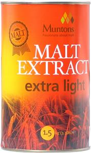 Muntons Malt Extract Extra Light 1.5 kg