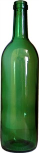 Woodshield Wine Bottle [green] (12s) 75 cl