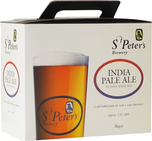 St Peters Indian Pale Ale (IPA) Beer Kit 3.0 kg