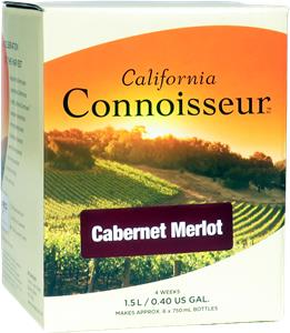 California Connoisseur Cabernet Merlot Wines Kit 1.5 litre