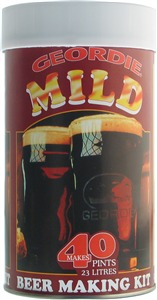 Geordie Mild Beer Kit 40 pt