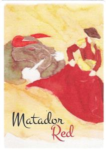 Unbranded Labels Self Adhesive Matador Red (30s)