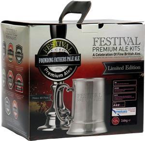 Festival Premium Ale Founding Fathers Pale Ale Beer Kit 3.4 kg