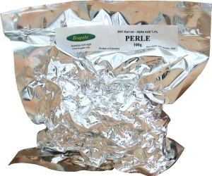 Brupaks Vacuum Packed Hops Perle (Germany) 100 g