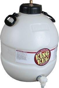 King Keg Bottom Tap with pin valve 5 gal