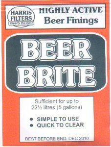 Harris Beer Brite Finings (powder) to 5 gal