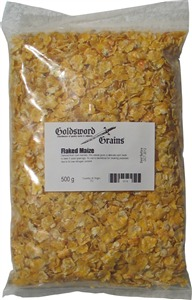 Goldsword Grains Flaked Maize 500 g