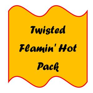 Smiths Twisted Flamin' Hot (6's) 6 x 30g