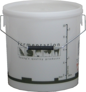 Woodshield Fermentation Bin (bucket) with lid 10 litre 10 litre