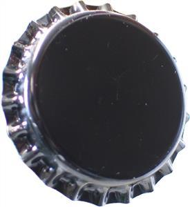 Crown Caps Black Crown Caps (45s)