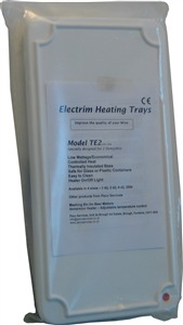 Electrim Heated Pad    (TE2) for 2 demijohns