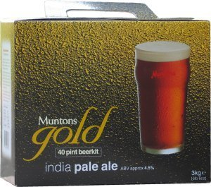 Muntons Gold India Pale Ale Beer Kit 3.0 kg