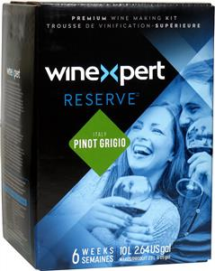 Winexpert Reserve Italian Pinot Grigio Wines Kit 30 bottle