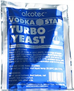 Alcotec Turbo Yeast Vodka Star Turbo Yeast