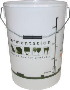 Woodshield Fermentation Bin (bucket) with lid 25 litre