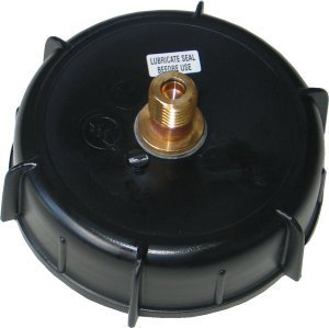 Barrel Spares 4 ins Cap with S30 valve