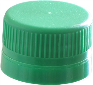 Woodshield Green Cap to fit 1 litre PET Bottle (12s)