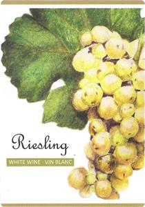 Unbranded Labels Self Adhesive Riesling (30s)