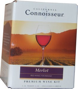 California Connoisseur Merlot Wines Kit 1.5 litre