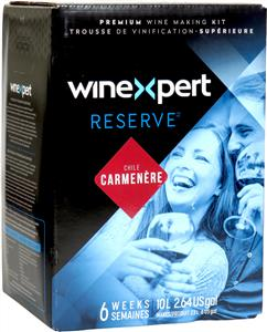 Winexpert Reserve Chilean Carmenère Wines Kit 30 bottle