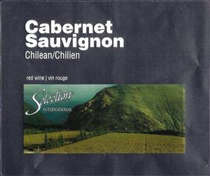 Selection Labels Self Adhesive Chilean Cabernet Sauvignon(30s)